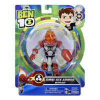 76100_049w Figurina Ben 10, Omni-Kix Armor, Heatblast, 76146, 12 cm