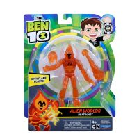 76100_052w Figurina Ben 10, Alien Worlds, Heatblast, 12 cm, 76168