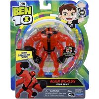 76100_060w Figurina Ben 10 Alien Worlds, Four Arms, 12 cm, 76159