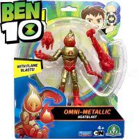 76100_063w Figurina Ben 10 Omni-Metallic, Heatblast, 12 cm, 76173