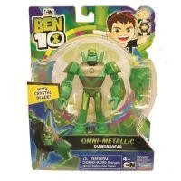 76100_065w Figurina Ben 10 Omni-Metallic, Diamondhead, 12 cm, 76175