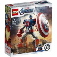 LG76168_001w LEGO® Marvel Super Heroes - Amura de robot Capitanul America (76168)