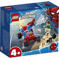 LG76172_001w LEGO® Marvel Super Heroes - Confruntarea dintre Omul paianjan si Sandman (76172)