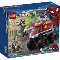 LG76174_001w LEGO® Marvel Super Heroes - Camionul gigant al Omului paianjen contra Mysterio (76174)
