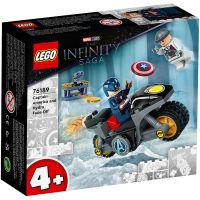 LG76189_001w LEGO® Super Heroes - Captain America si Hydra Face-off (76189)
