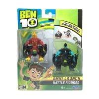 76636_001w Set figurine Ben 10 Heatblast si XLR8