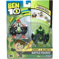 76637_001w Set figurine Ben 10 Four Arms si Wildvine