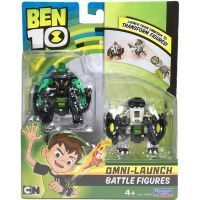 76638_001w Set figurine Ben 10 Diamondhead si Cannonbolt