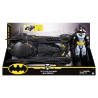 6058417_001w Masinuta cu figurina Tactical Batman, Batmobile, 30 cm