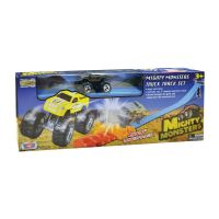 78401_001w Set de joca Pista cu masinuta Motormax Mighty Monsters