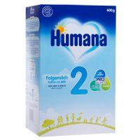 78557_001w Lapte praf Humana 2 GOS, 600 g, 6 luni+