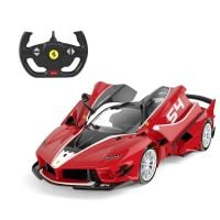 79200_001w Masina cu telecomanda Ferrari FXX K EVO, Rastar, RC, 114, Rosu