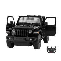 79400_002w Masina cu telecomanda Rastar Jeep Wrangler, RC, 114, Negru
