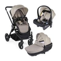 Carucior 3 in 1 Chicco Trio Best Friend+ Comfort, 0 luni+, Bej