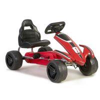 800013005_001w Masinuta cu pedale pentru copii kart Feber