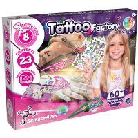 80002748_001w Joc educativ Science4you, Fabrica de tatuaje