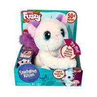 810017182978 18297_001w Jucarie de plus interactiva, Fuzzy Friend, Cuddling Kitten