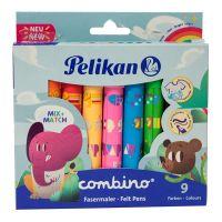 814553_001w Set carioci Pelikan Combino Super 411, 9 buc