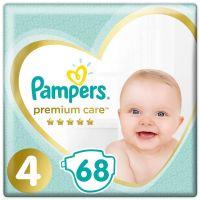 81689709_001w Scutece Pampers Premium Care, Nr 4, 9 - 14 kg, 68 buc
