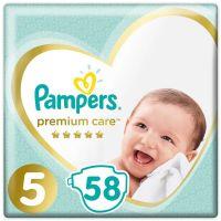 81689710_001w Scutece Pampers Premium Care, Nr 5, 11 - 18 kg, 58 buc