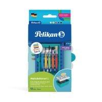 816977_001w Set accesorii pictura, Pelikan, baza pentru set Kreativfabrik, echipat