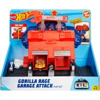 FNB05_2018_027w Set de joaca Circuit cu obstacole Hot Wheels City, Gorilla Rage (GJK89)