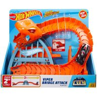 FNB05_2018_029w Set de joaca Circuit cu obstacole Hot Wheels City, Viper Bridge Attack (GJK88)