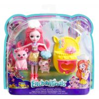 Set tematic Papusa cu figurine Mattel Enchantimals