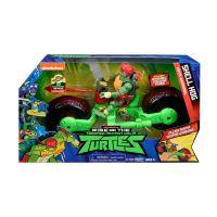 Vehicul cu figurina Testoasele Ninja Raphael