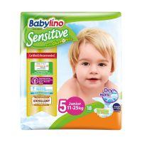 8255_001w Scutece Babylino Sensitive, N5, 11-25kg, 18 Buc.