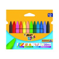 8297732_001w Set creioane cerate Plastidecor Triangle Bic, P12