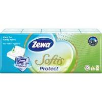 830377_001w Set Batiste nazale Zewa Softis Protect, 4 straturi, 10 pachete