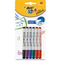 8413871_001w Markere asortate Velleda Kids Bic, 6 culori