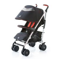 845022_001w Carucior Knorr Baby Buggy Volkswagen, Negru cu Rosu