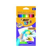 8575613_001w Set creioane colorate Aquacouleur Bic, P12