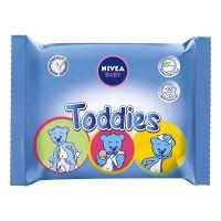 86178_001w  Servetelele umede Nivea Baby, Baby Toddies, 60 bucati