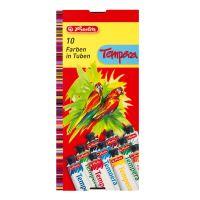 8643058_001w Set acuarele tempera Herlitzm 10 culori, 16 ml