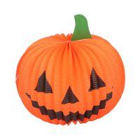 871125215509_001w Decoratiune luminoasa dovleac halloween Edco, 25 cm