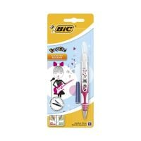 8794115_001w Stilou Easy Clic Decor Bic, Manga