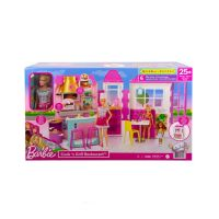 887961984569 HBB91_001w Set restaurant, Barbie, Cook and Grill