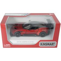 900475 Rosu Masinuta din metal Kinsmart, Aston Martin Vulcan, Rosu