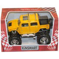 901774_002w Masinuta metalica de off-road Kinsmart, Hummer, Galben
