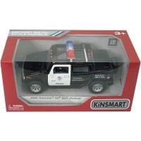 902018 2005 HUMMER Masinuta metalica de politie Kinsmart, Hummer H2 2005