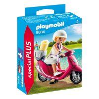 Figurina Playmobil Special Plus - Fata cu scooter (9084)
