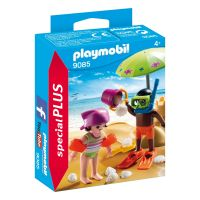 Figurina Playmobil Special Plus - Copil pe plaja (9085)