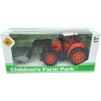 912019 Rosu Tractar Farm Unika Toy, Rosu, 25 cm