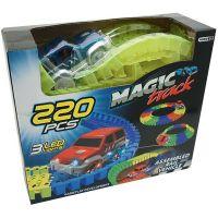 912297_001w Set de joaca Circuit cu masinuta Unika Toy, 220 piese