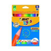 937513_001w Set creioane colorate Evolution Bic, P18
