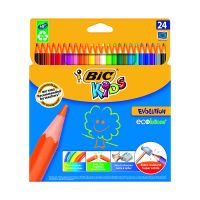 937515_001w Set creioane colorate Evolution Bic, P24