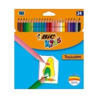 9375182_001w Set creioane colorate Tropicolors Bic, P24